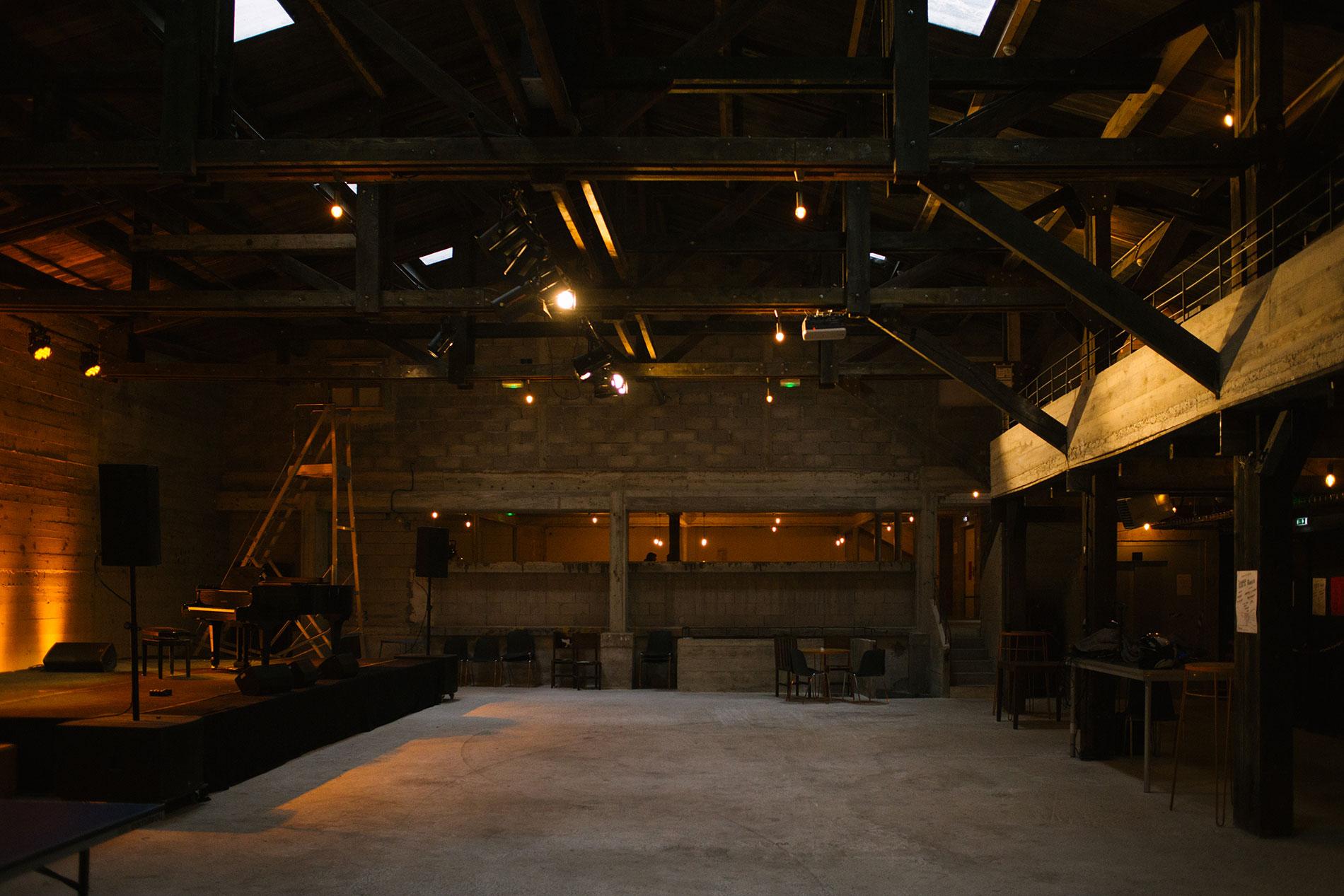 Salle de concert La Marbrerie à Montreuil (93)
